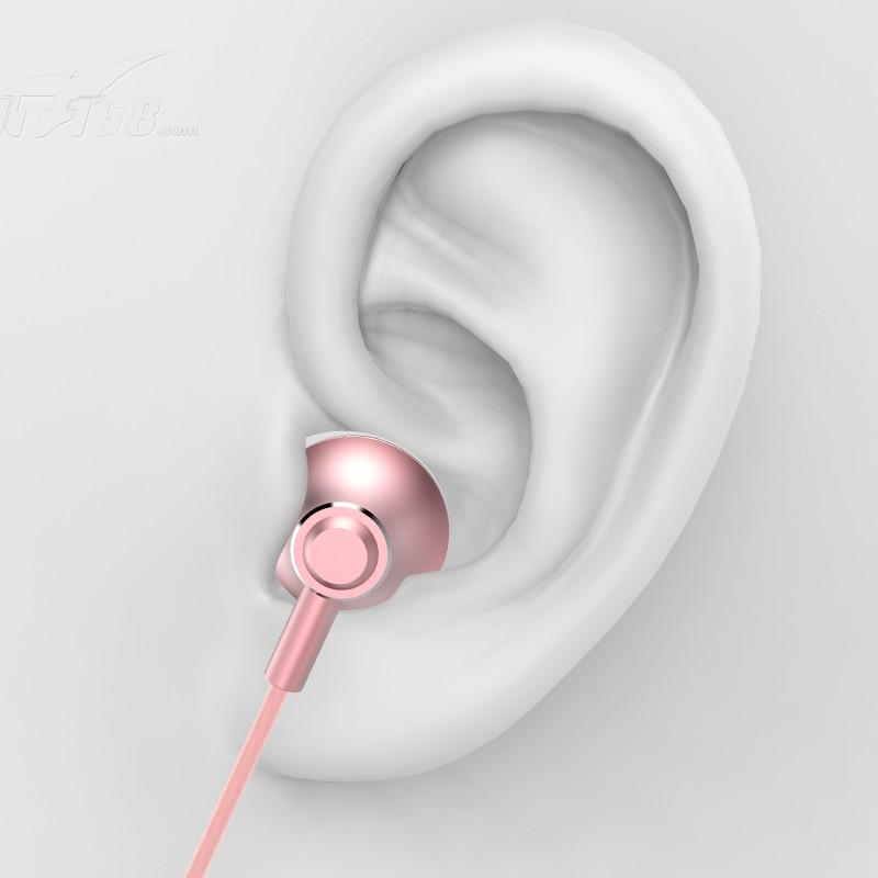 兰士顿f9耳机入耳式金属重.