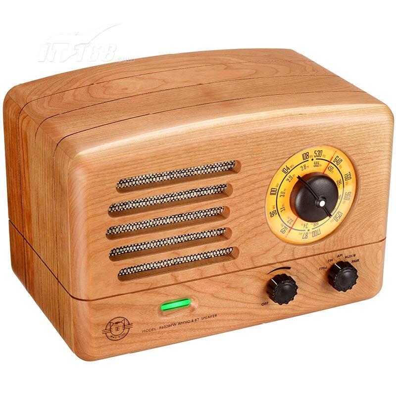 猫王典藏级蓝牙收音机音箱 樱桃木版音箱产品图片5