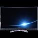 TCL XESS Q65X1S-CUD 65英寸量子点4K 曲面智能LED液晶平板电视(黑)图片