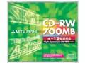 三菱CD-RW 12速 单片盒装