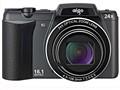 爱国者T90 数码相机 黑色(1600万像素 3英寸液晶屏 24倍光学变焦 25mm广角)