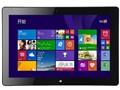 海尔W1048s 有键盘 10.1英寸平板电脑(Z3735F/2G/64G/1280X800/Windows 8.1/黑色)