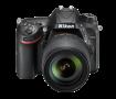 尼康 D7200 APS-C画幅单反相机整体外观图图片2