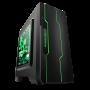 大水牛潘多拉 黑色 MINI机箱(支持ATX主板/支持双水冷排/七彩呼吸灯/多硬盘支持/U3)