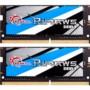 芝奇Ripjaws SO-DIMM系列 DDR4 3000频率 16G(8Gx2) 套装 笔记本内存(冰暴蓝)