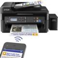 爱普生L565 墨仓式 网络传真打印机一体机(打印 复印 扫描 云打印 无线直连)