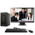 惠普286 Pro G2 MT 商用台式电脑套机(i3-6100 4G 500G DVDRW Win10)23英寸