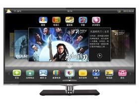海信 LED55K610X3D 55英寸3D网络智能LED电视(银色)