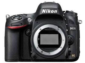 尼康 D600 单反机身(专业级单反 2426万像素 3.2英寸液晶屏 连拍5张/秒)