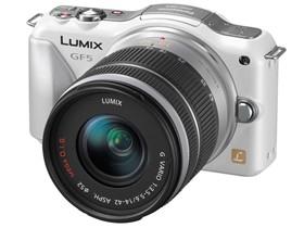 松下 GF5 微单相机(LUMIX G VARIO 14-42mm F3.5-5.6 ASPH. MEGA O.I.S. 镜头)