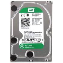 西部数据 绿盘 2TB SATA6Gb/s 64M 台式机硬盘(20EZRX)