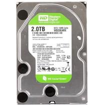 西部数据 绿盘 2TB SATA6Gb/s 64M 台式机硬盘(20EARX)