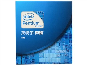 Intel 奔腾双核G2020 盒装CPU(LGA1155/2.9GHz/3M三级缓存/55w/22纳米)