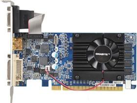 技嘉 GV-N210D3-1GI 590MHz/1200MHz 1024MB/64 bit DDR3 PCI-E 半高显卡