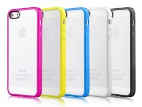 devia iphone5/5S 彩虹防刮双色背壳