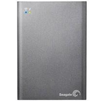 希捷 无线硬盘移动存储设备 1TB USB3.0移动硬盘 灰色 (STCK1000300)