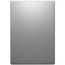东芝 Canvio slim超薄系列2.5英寸移动硬盘(USB3.0)500GB(银色)