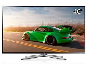 三星 UA46F6400AJXXZ 46英寸窄边3D网络智能LED电视(黑色)