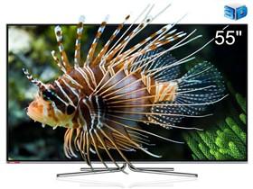 长虹 UD55B6000i 55英寸3D网络4K智能LED液晶电视(黑色)