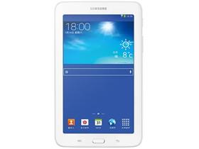三星 GALAXY Tab3 Lite T110 7英寸平板电脑(三星双核/1G/8G/1024×600/Android 4.1/白色
