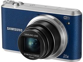 三星 WB350F 数码相机 蓝色(1630万像素 3英寸液晶屏 21倍光学变焦)