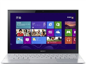 索尼 SVP13218SCS 13.3英寸笔记本(i5-4200U/4G/256G SSD/核显/触控屏/蓝牙/Win8/银色)
