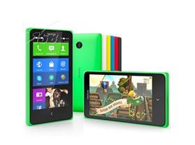 诺基亚 X+ 联通3G手机(绿色)WCDMA\/GSM双