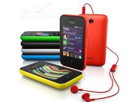 诺基亚 Asha 230 GSM手机(黑色)双卡双待单通