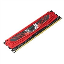 宇瞻 盔甲武士 (赤焰甲) DDR3 1600 4g 台式机内存