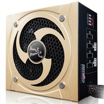游戏伙伴 额定500W 战王猎刃HB500电源(模组化/85%效率/大尺寸设计/超静音)