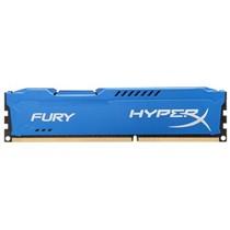 金士顿 骇客神条 Fury系列 DDR3 1600 8GB台式机内存(HX316C10F/8)蓝色