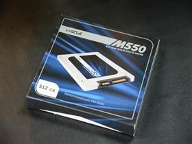 英睿达 M550系列 512G 2.5英寸 SATA-3固态硬盘(CT512M550SSD1)