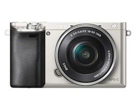 索尼 A6000 单电套机 银色(E PZ 16-50 f/3.5-5.6 OSS)