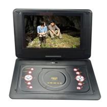金正 移动可视DVD PD-1701 17英寸EVD影碟机电视便携式游戏播放器3合1读卡 红