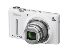 尼康 S9600 数码相机 白色(1605万像素 22倍光学变焦 44倍动态缩放变焦 魔法修饰 wifi)