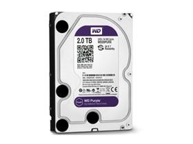 西部数据 紫盘 2TB SATA6Gb/s 64M 监控硬盘(WD20PURX)
