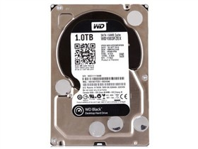 西部数据 黑盘 1TB 7200转64M SATA6Gb/s 台式机硬盘(WD1003FZEX)