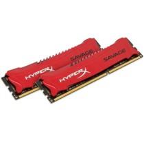 金士顿 骇客神条 Savage系列 DDR3 2400 16GB(8GBx2)台式机内存(HX324C11SRK2/16)