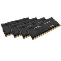 金士顿 骇客神条 Predator系列 DDR4 2400 16G(4GBx4)台式机内存(HX424C12PBK4/16)