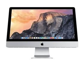 苹果 iMac Retina 5K显示屏 MF886CH/A 27英寸一体电脑(四核i5/8G/1T/R9 M290X 2G独显/OS X Yosemite)