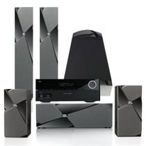 JBL STUDIO 180BK 130BK 120CBK SUB 150P AVR 151 5.1家庭影院HIFI套装(含功放机)黑色