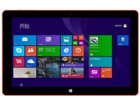 中柏 EZpad 4s时尚版 10.6英寸平板电脑(Bay Trail-T/2G/32G/1366×768/Win8+安卓4.4/前黑