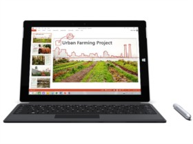 微软 Surface 3 10.8英寸笔记本(intel Atom x7/4G/128G/1920×1280/Win8.1/银色)