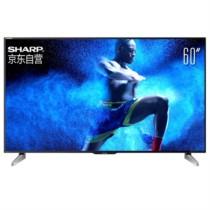 夏普 LCD-60UF30A 60英寸4K超高清安卓智能电视 日本原装液晶面板(黑色)