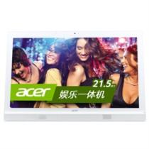 宏� AZ1620-N80 21.5英寸一体电脑(i3-4005U 4G 500G GT940M 2G USB3.0 DVD刻录 键鼠 Win8.1)白色