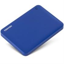 东芝 V8 CANVIO高端分享系列2.5英寸移动硬盘(USB3.0)3TB(神秘蓝)