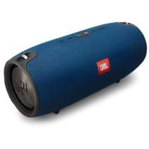 JBL Xtreme 音乐战鼓 高品质立体声 双外部加强低音 超长时间播放 防溅处理 支持多点连接 舞动蓝