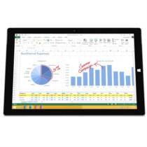 微软 Surface Pro 3 专业版 12英寸笔记本(i7-4500U/8G/512G SSD/核显/Win10/暗钛钢)