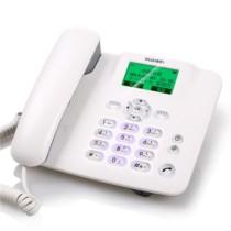 华为 F202 无线固话座机 无绳 插卡电话机 电信手机卡(白色)