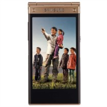 三星 W2014 16GB 电信版3G手机(双卡双待/金色)
